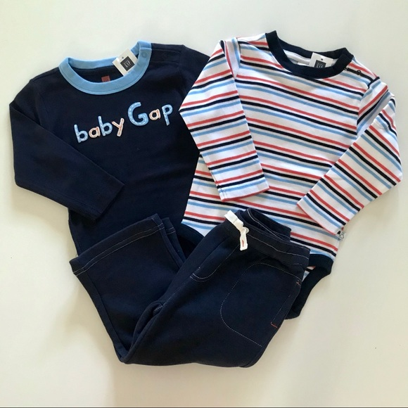 NWT Gymboree SWEATER WEATHER Boys Size 6 12 18 Months Pants /& Sweater 2-PC SET